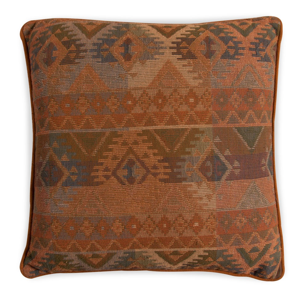 Small Jacquard Cushion Cotton Tapestry Pillow Satara