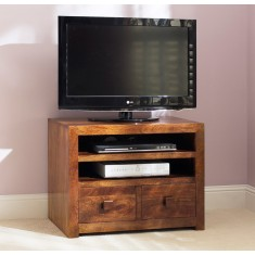 Dakota Mango Small TV Unit