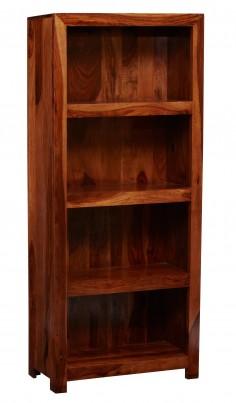 Cube Sheesham Tall Bookcase 1