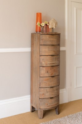 Antigua Reclaimed 7 Drawer Tall Chest 1
