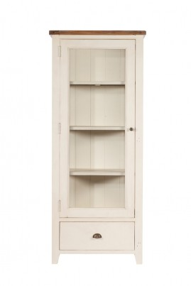 Montpellier Painted 1 Door Display Cabinet 1