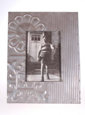 Patterned Metal Picture Frame