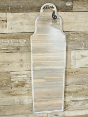 Tall Shaped Rustic Wall Mirror