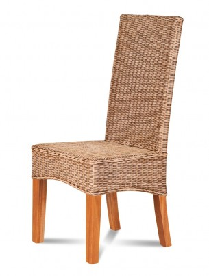 Ibis Rattan Dining Chair - Light Leg 1