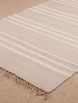 Slubweave Natural-Stone Runner - 4011 1