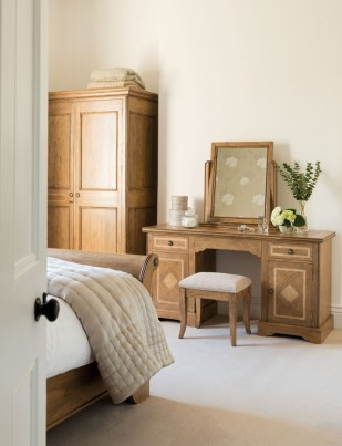 Florence Mango and Stone Dressing Table 1
