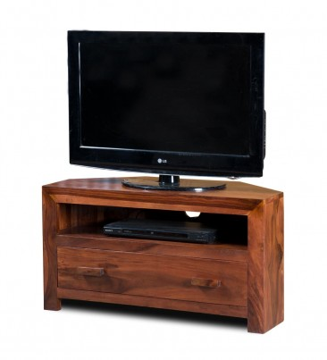 Kashmir Sheesham Small Corner TV Unit