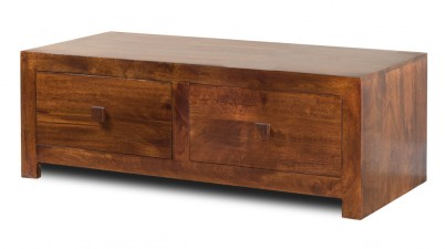 Dakota Mango 4-Drawer Coffee Table 1