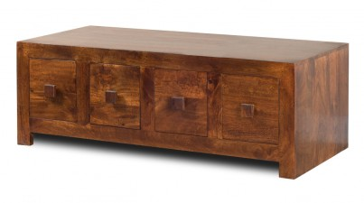 Dakota Mango 8-Drawer Coffee Table 1