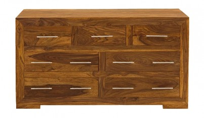 Cuba Sheesham 7-Drawer Chest