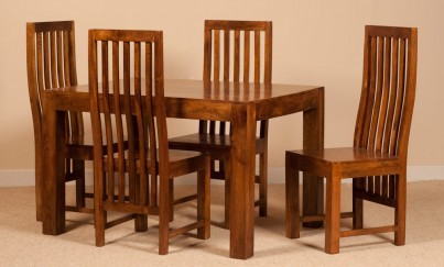 Dakota Mango 4 Seater Dining Set 1