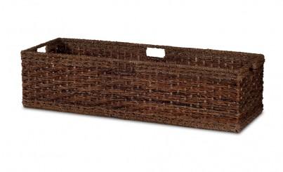 Large Rattan Storage Basket 1