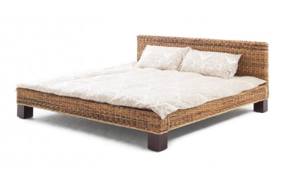 Sheva Rattan Double Bed 1