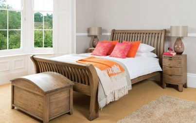 Antigua Reclaimed King Size Bed 1