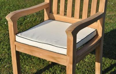 Square Cotton Garden Chair Cushion 1
