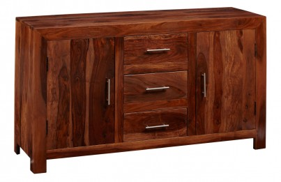 Cube Sheesham Large Sideboard 1