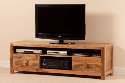 Dakota Light Mango Large Media Unit 1