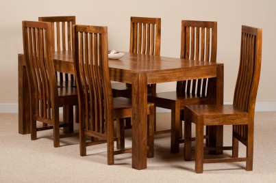 Dakota Mango 6 Seater Dining Set 1