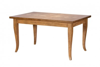 Florence Mango and Stone Small Extending Dining Table 1
