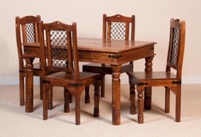 Thakat Mango 4 Seater Dining Set 1