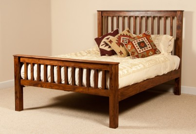 Kashmir Sheesham Kingsize Bed 1