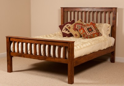 Kashmir Sheesham Super Kingsize Bed 1