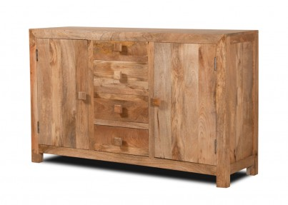 Dakota Light Mango Large Sideboard 1