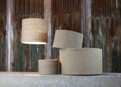 Bvari Plain Linen Lamp Shades