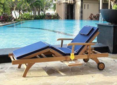 Bedford Sun Lounger Cushion 1