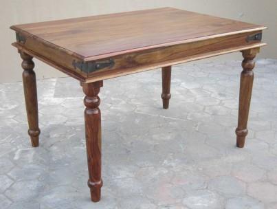 Jali Sheesham 120cm Dining Table 1