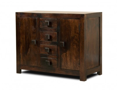 Dakota Dark Mango Small Sideboard 1