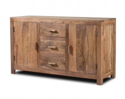 Kashmir Stonewashed Sheesham Large Sideboard 1