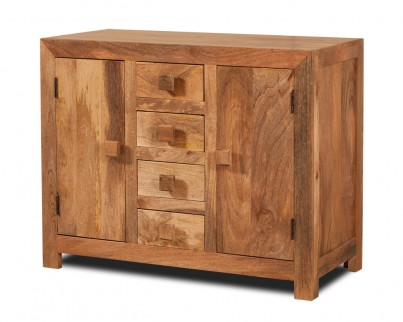 Dakota Light Mango Small Sideboard 1