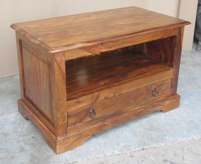 Jali Sheesham Small TV Unit 1