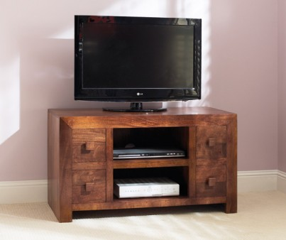Dakota Mango Large TV Unit 1
