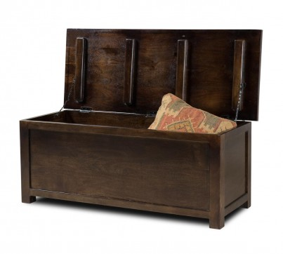 Dakota Dark Mango Blanket Box - Large 1