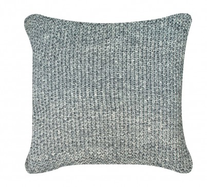 Grey Millange Moss Stitch Cushion 1