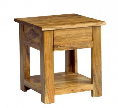 Indus Acacia Lamp Table 1