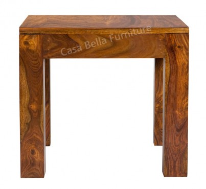 Cuba Sheesham Lamp Table 1