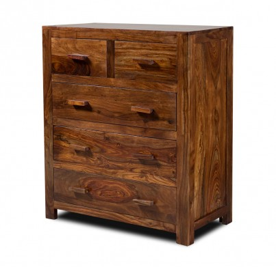 Kashmir Sheesham Small Chest Of Drawers 1