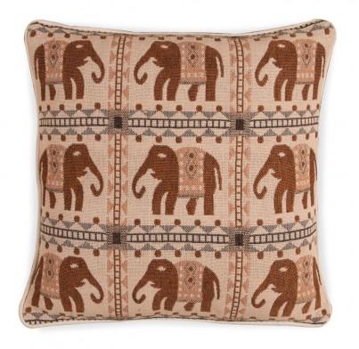 Large Jacquard Cushion - Elephant 1217 1