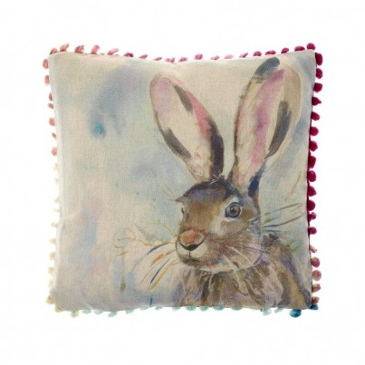 Arthouse Hare Cushion