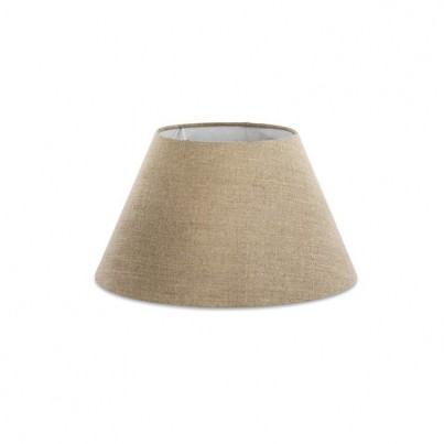 Linen Barrel Lampshades