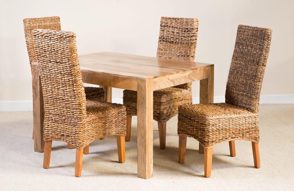 You are here home jali sheesham 4 seater dining set - Catalina 4 Seater Light Mango Dining Set