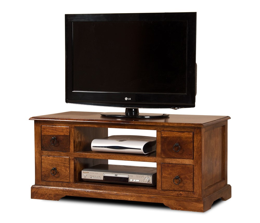 open 42 tv stand mango wood coffee table hi fi media casa be