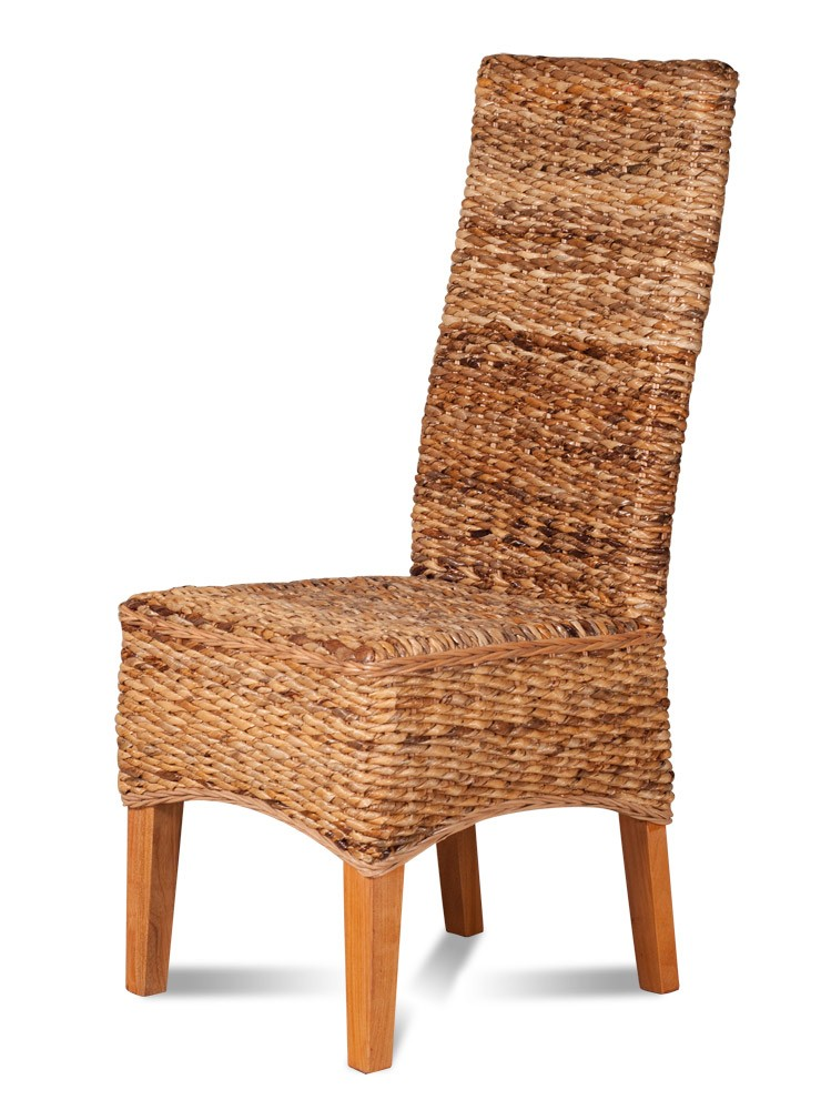 dining chair light rattan light coloured legs casa