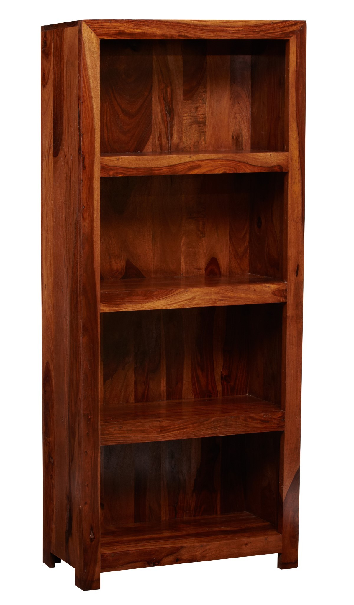 Cube Sheesham Tall Bookcase