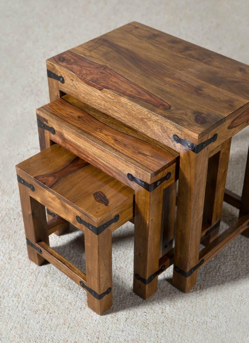 Jali Sheesham Nest Of Tables