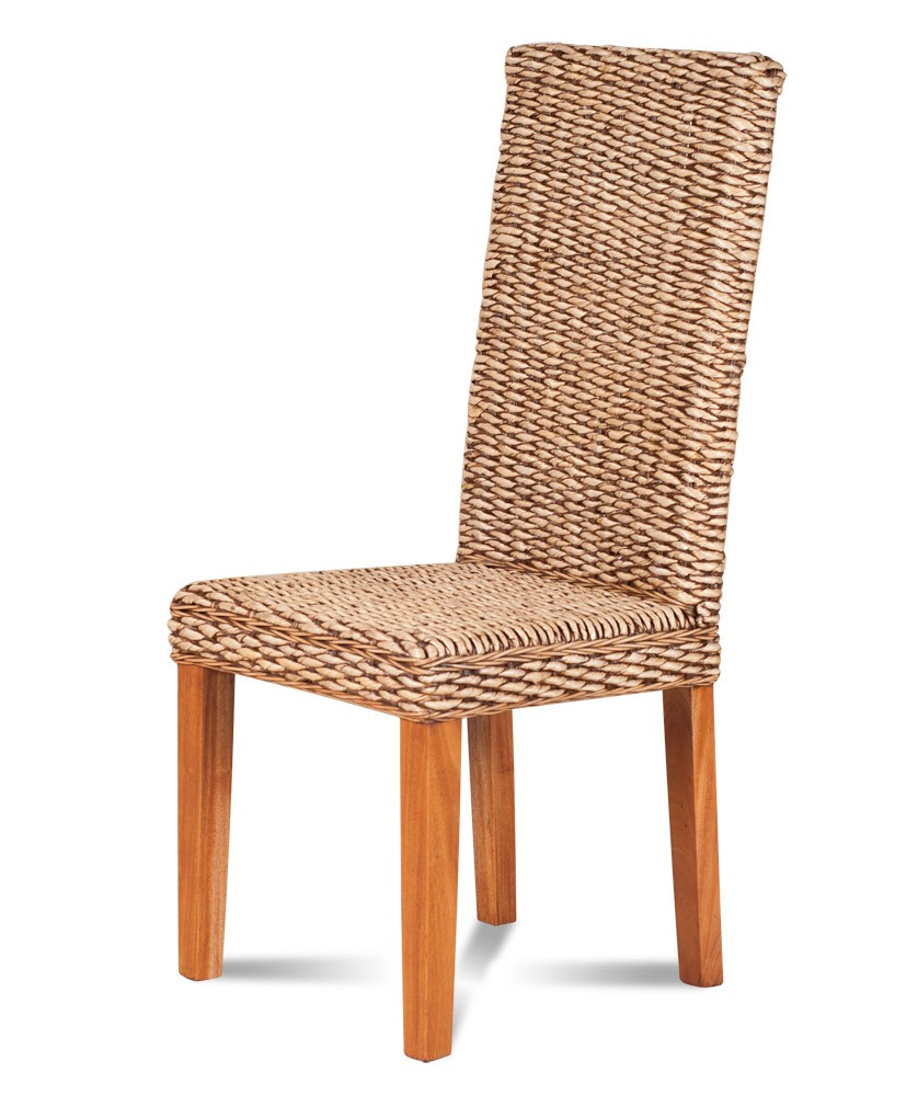 Rattan Dining Chairs: Banana Leaf Weave Dining Chair