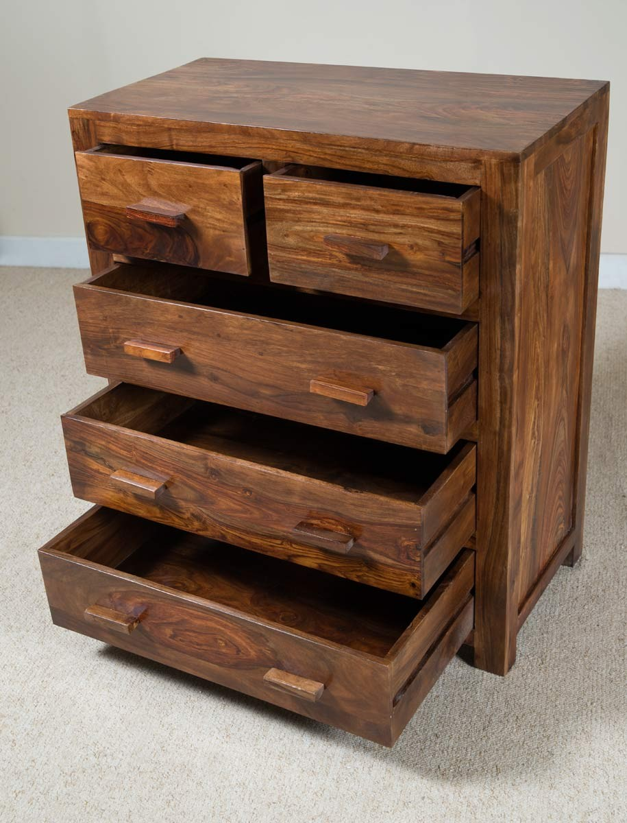 usa in hand of berkeley small drawers cherry drawer wood chest made products